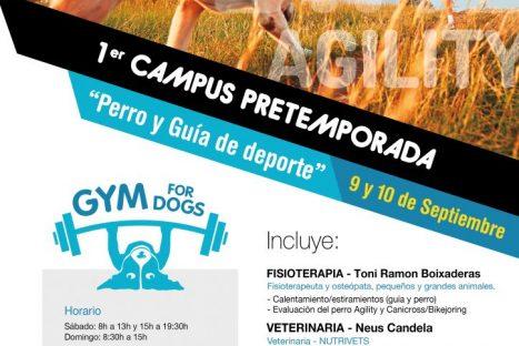 1er CAMPUS PRETEMPORADA – Gos i Guia d'esport