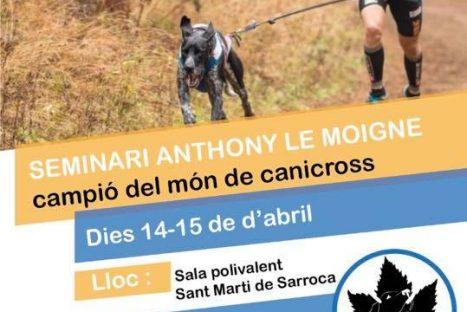 Seminari Antony le moigne organitzat per Canicross Penedès
